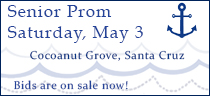 Senior Prom: May 3, 2014 - Bids are on sale now