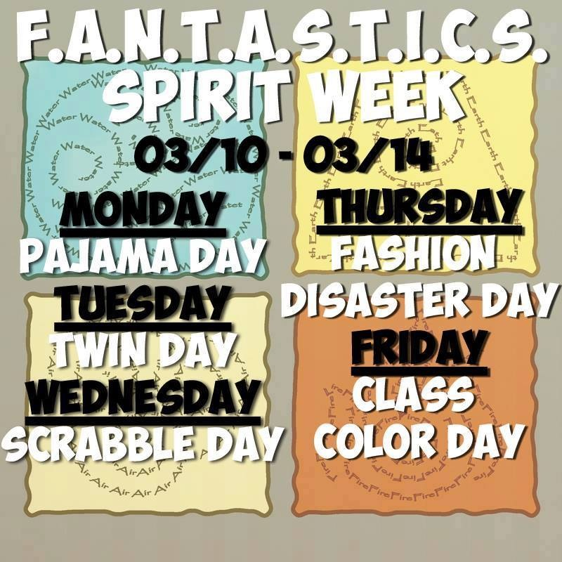 Silver Creek High School FANTASTICS Spirit Week 2014