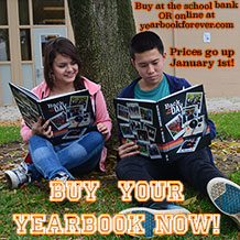Buy your yearbook before the January 1st price increase!
